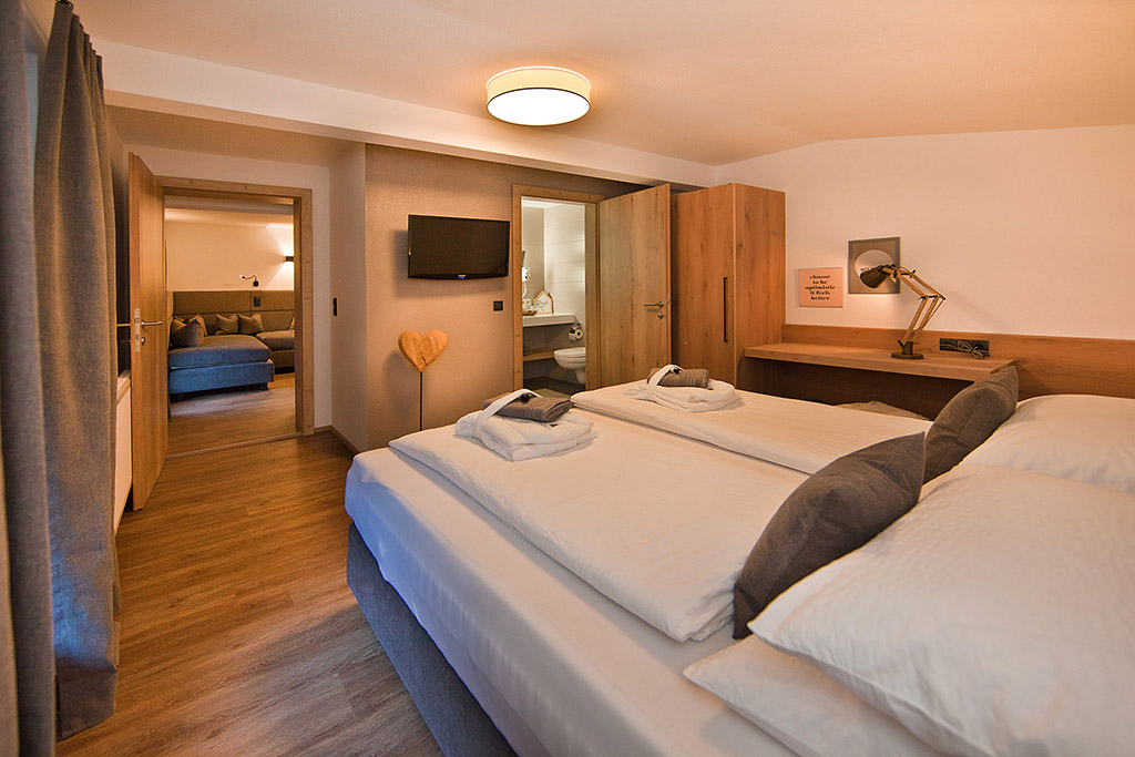 Our suites at Villa Michaela in Gerlos