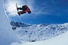 Snow boarder on the half pipe in the snow - (c) Bernd Ritschel Zillertal Tourismus GmbH